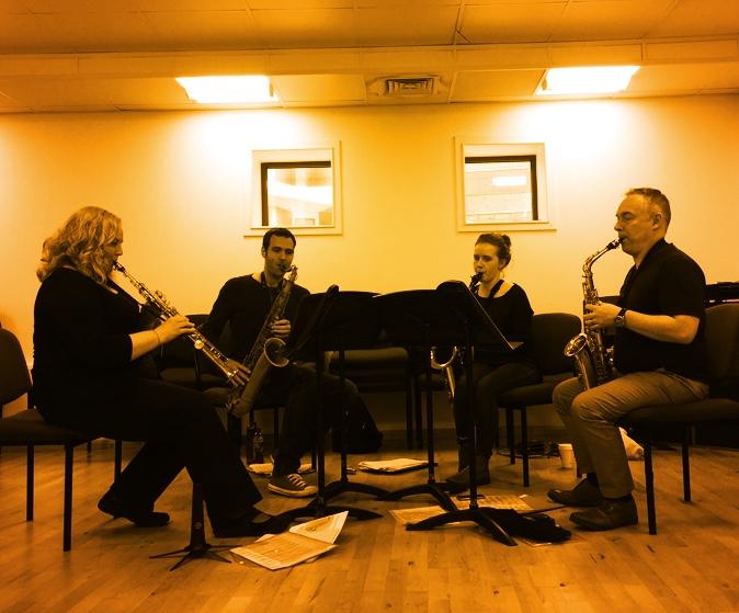 Quirk Saxophone Quartet